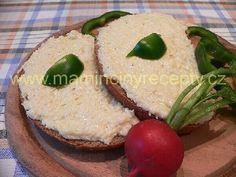 Pivní pomazánka Hummus, Camembert Cheese, Ethnic Recipes, Food, Homemade Hummus, Meals, Yemek, Eten