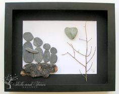 Stone Art Gift for Family Pebble Art Family Gift Gifts for