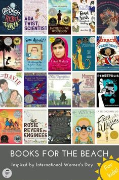 In honour of International Women's Day, we wanted to share some of our favourite books for girls (and boys!) to pack in their beach bag. As mothers to both daughters and sons, we're always keen to find books with strong female characters. It's important to both of us that all members of our families are brought up knowing that girls can do anything and be anyone that they want to be. More importantly, we want our kids to know that futures are not determined by a prince on a white horse.