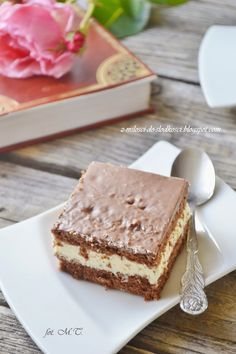 Z miłości do słodkości...: Ciasto Mleczna kanapka Late Night Snacks, Tiramisu, Delicious Desserts, Food And Drink, Sweets, Candy, Cookies, Ethnic Recipes, Drinks