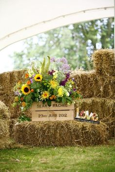 outdoor country wedding decor ideas