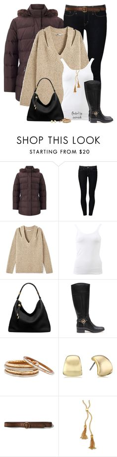 """""""Puffer Coat"""" by amwmik ❤ liked on Polyvore featuring Four Seasons, Levi's, Rebecca Minkoff, Frame, Michael Kors, MICHAEL Michael Kors, Nest, Anne Klein, Abercrombie & Fitch and Chloé"""