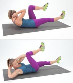It's time for another workout challenge, and this one is all about the abs. Perfect for those new to strength training, it's short and sweet — all it 5 Minute Abs Workout, Workout For Flat Stomach, Best Ab Workout, Belly Fat Workout, Workout Videos, Sport Fitness, Body Fitness, Reduce Belly Fat, Lose Belly Fat
