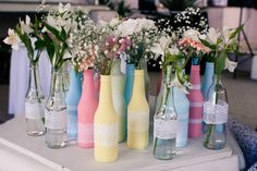 Cores de garrafas