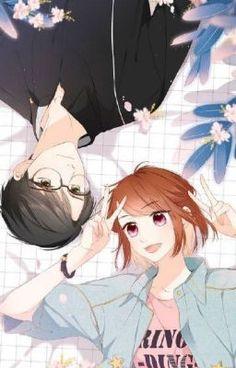 Love Like Cherry Blossoms- Xu Ye and Dai Dai Anime Cupples, Chica Anime Manga, Kawaii Anime, Anime Guys, Anime Art, Anime Couples Drawings, Anime Couples Manga, Couple Drawings, Anime Love Couple
