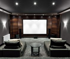 Lounge/chaises for TV viewing (photo by shutterstock)