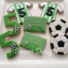 Sweet Dough soccer cookies                                                                                                                                                      Más