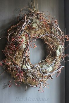 tea with mrs. mourning dove tea with mrs. Autumn Wreaths, Christmas Wreaths, Christmas Crafts, Christmas Decorations, Holiday Decor, Rustic Wreaths, Art Floral Noel, Mourning Dove, Wreaths And Garlands