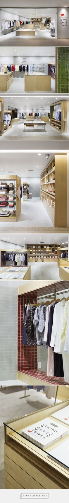 Uchino My GauzeMy Towel Store by Schemata Architects, Tokyo – Japan » Retail Design Blog... - a grouped images picture - Pin Them All