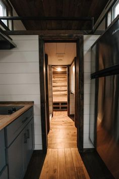 Bathroom & Bedroom - Noah by Wind River Tiny Homes