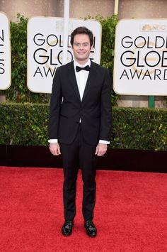 Pin for Later: Seht alle Stars auf dem roten Teppich bei den Golden Globes! Bill Hader