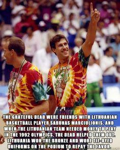 Grateful Dead #Lithuania #Basketball