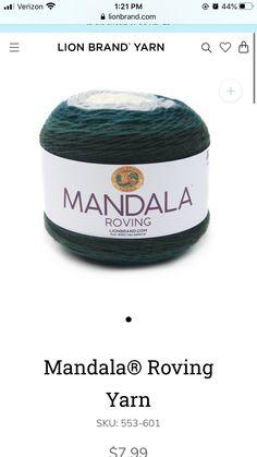 Roving Yarn, Lion Brand Yarn, Amazon Echo, Tartan, Plaid