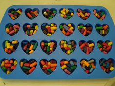 Cute project and great Valentine for little ones!