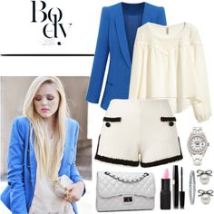 Designer Clothes, Shoes & Bags for Women Barry M, Mode Style, Moschino, Rolex, Shoe Bag, Polyvore, Blue, Stuff To Buy, Shopping