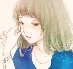 anime, girl, and cute image