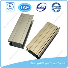 Brand: Pinglu. Type: T Slot, Extruded Trim. Material: Aluminum Alloy. Grade: 6000 Series. Temper: T4-T6. Surface Treatment: Anodized. Certificate: ISO 9001:2008, ROHS, CE, IQNET. Color: Different Colors. Size: Same as drawings. Application: Architectural. Award: Guangxi Famous Brand. Quality Standard: GB5237-2008. Package: Shrink Wrap. Delivery: 15-20 days after deposit. More:http://www.pinglualuminium.com/