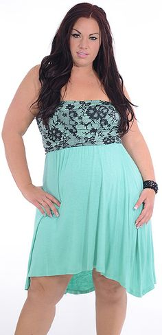Captivating (Plus)-Great Glam is the web's best sexy plus size online store clothing website for 1X 2X and 3X clothes for women and juniors.