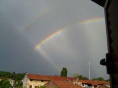 Doppio arcobaleno!