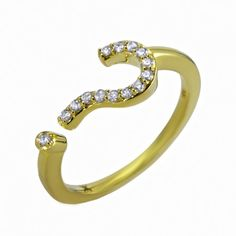 Khai Khai Jewelry | Question Mark? Ring