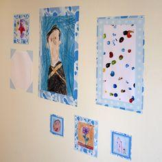 Children's Frame Wall Stickers Childrens Frame Wall Stickers [] - £4.95 : Artful Kids