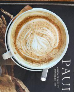 #time for a #coffee #break at #paulpatisserie #paul #meisamcitycentre #citycentremeaisem Coffee Break, Latte, Instagram Posts, Food, Essen, Meals, Coffee Time, Yemek, Eten