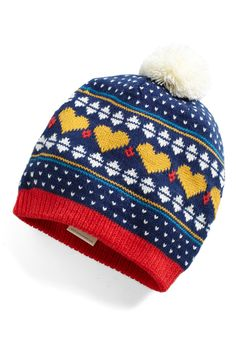 Heart Warming Hat | Mod Retro Vintage Hats | ModCloth.com