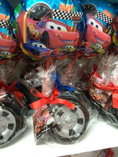 Wheels with candy and balloon- for kids in the birthday party