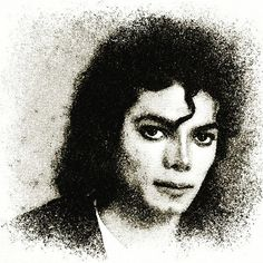 #michaeljackson #fanart #portrait #pointillism #photolab #visualart #creative #legend #kingofpop #artist