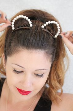» MY DIY | Embellished Animal Ears