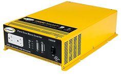 Go Power! GP-SW1500-12 1500-Watt Pure Sine Wave Inverter - http://www.the-solar-shop.com/go-power-gp-sw1500-12-1500-watt-pure-sine-wave-inverter/