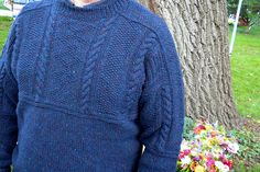 Ravelry: Project Gallery for Old Way Gansey pattern by Ann Budd