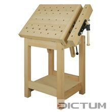 DICK® Sculptor's Bench with no Carving Support #woodworkingbench