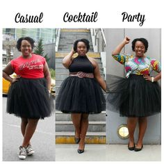 There are so many ways to style a #tulleskirt! Look at the great #outfitidea's…