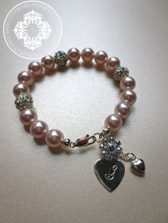 A personal favorite from my Etsy shop https://www.etsy.com/listing/161946340/personalized-childbaby-bracelet
