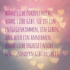 wahre liebe One Word Quotes, Me Quotes, More Than Words, Some Words, German Quotes, German Words, Everlasting Love, Love Life, Beautiful Life