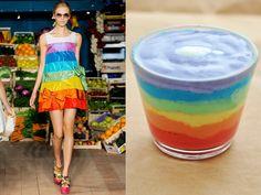 Moschino Cheap & Chic ss 2012 / Artistic yogurt?