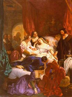 Complications were frequent and death was not unusual in Tudor childbirth. The most famous casualty of this was Jane Seymour.