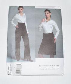 VOGUE PATTERN V2813 DONNA KAREN NEW YORK DESIGNS #VoguePatterns