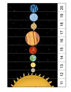 learning space activities for kıds Space Theme Preschool, Space Activities For Kids, Space Crafts For Kids, Preschool Science, Puzzles For Kids, Science For Kids, Preschool Crafts, Planets Preschool, Planets Activities