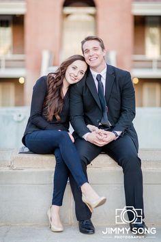 Tucson Arizona University of Arizona Senior Grad Graduation Pictures Photographer Dress Cap Gown Couples Engagement Wedding Suit Tie