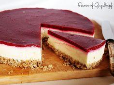 Queen of Gugelhupf: White Chocolate Raspberry Cheesecake, no bake