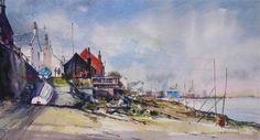 Ferryden, Watercolour.     Angus MacDonald