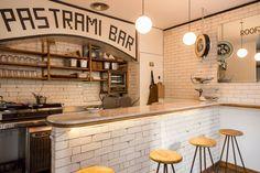 El Pastrami Bar de los Rooftop Smokehouse