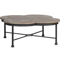 Iron and recycled pine combine to create an industrial-inspired essential for your décor with the Gabby Edwin Quatrefoil Coffee Table . This rustic. Gabby Furniture, Handmade Coffee Table, Iron Coffee Table, Furniture, Table, Living Furniture, Coffee Table, Furniture Chair, Transitional Coffee Tables