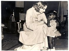 """Carole Lombard - rare shot of her on set of """"Nothing Sacred"""""""