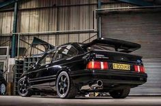 Ford Sierra, Ford Rs, Car Ford, American Motors, Ford Motor Company, Modified Cars, Ford Mustang, Cars And Motorcycles, Cool Cars