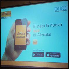 """Presentata """"Alexala"""", la nuova app per essere sempre aggiornati sul territorio. Scarica l'app da I-Tunes e PlayStore."""