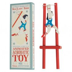 Miss Lady Bird Acrobatic Wooden Trapeze Toy