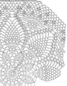 Crochet Gloves Pattern, Crochet Doily Diagram, Crochet Mandala Pattern, Crochet Art, Crochet Home, Thread Crochet, Filet Crochet, Vintage Crochet, Crochet Stitches